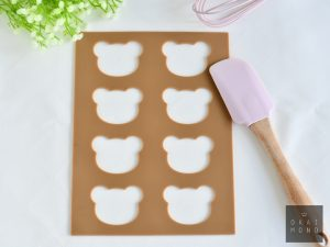 Langue de Chat Cookie Template Mat - Bear 2