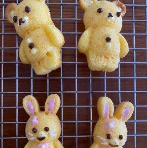Okaimono_Rabbit & Bear Madeleines Recipe