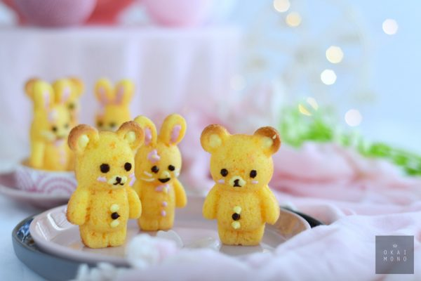 Delightful Rabbit and Bear Silicone Mould 6