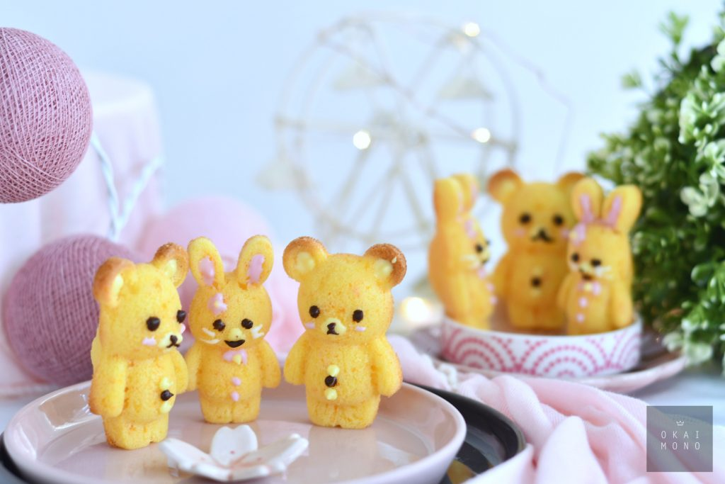Rabbit & Ber Silicone mould Madelines