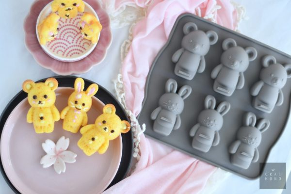 Delightful Rabbit and Bear Silicone Mould 7