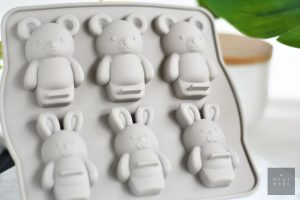 Rabbit and Bear Silicone Mould