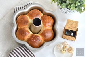 Easy Soft & Fluffy Japanese Milk Bread using Water Roux Starter (Yudane Method) 4