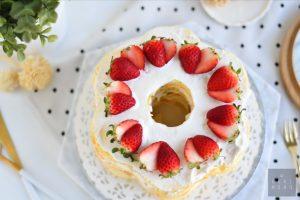 Fresh Fruit Flower Naked Cake