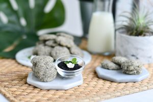 10 Easy Steps to Delectable Black Sesame Pebble Cookies by Bakeomaniac! 6