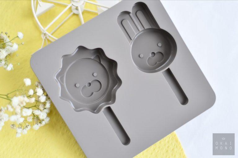 Okaimono Ice Popsicle Mould - Lion & Rabbit