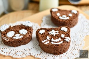Beary Chocolate Bread by Bakeomaniac! 6
