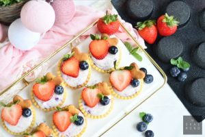 Very Berry Cheese Tartlets 2