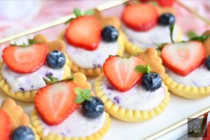 Very Berry Cheese Tartlets 5