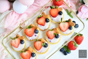 Very Berry Cheese Tartlets 4