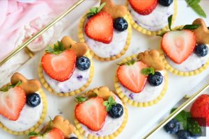 Very Berry Cheese Tartlets 1