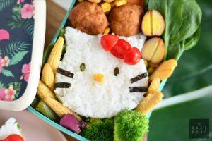 Hello Kitty Onigirazu (Rice Sandwich) perfect for bentos or a snack! 9