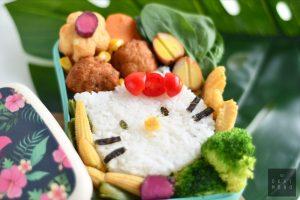 Hello Kitty Onigirazu (Rice Sandwich) perfect for bentos or a snack! 7