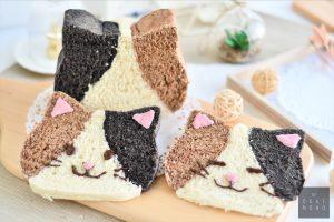 Super Cute Calico Cat Bread Recipe 19
