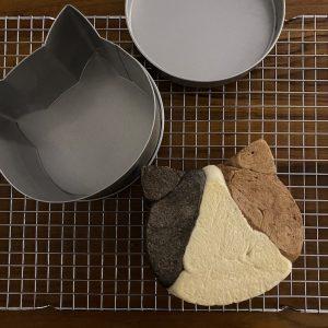 Super Cute Calico Cat Bread Recipe 13