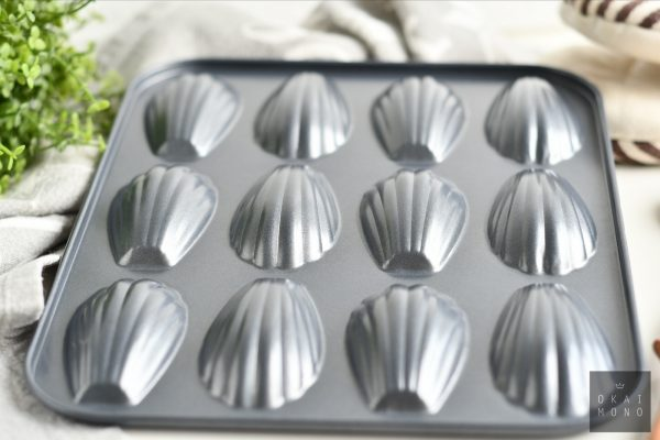 Classic Madeleine Mould - 12 shells - NEW! 2