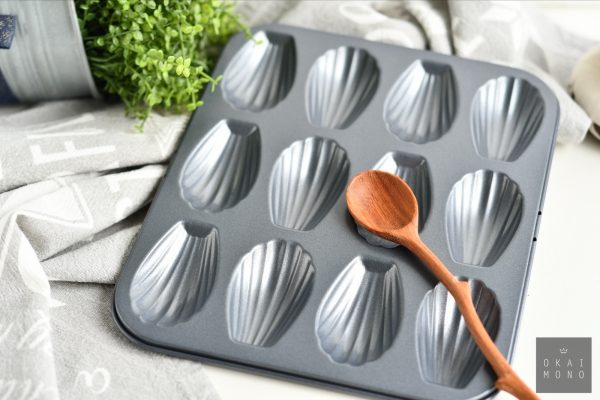 Classic Madeleine Mould - 12 shells - NEW! 3