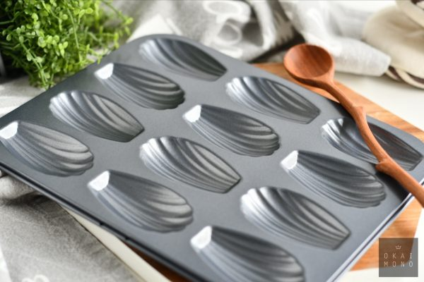 Classic Madeleine Mould - 12 shells - NEW! 4